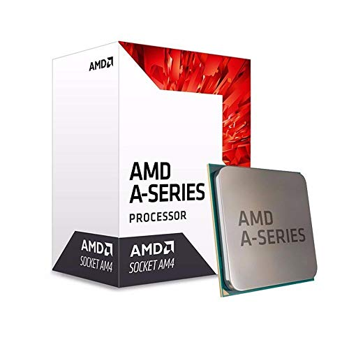 AMD A8-9600 APU with Radeon R7 Graphics Desktop Processor 4 Cores up to 3.4GHz AM4 Socket (AD9600AGABBOX)