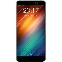 """Ulefone S8 - 5,3"""" 3G Smartphone, Android 7,0 Quad Core 1GB+8GB, Fotocamere Doppie Posteriori 13MP+5MP, Frontale 5MP, Dual SIM, Impronta Digitale Sbloccato Telefono Cellulari, Nero"""