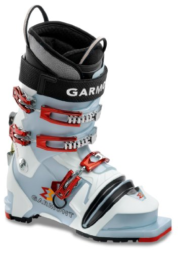 Garmont Minerva Telemark Ski Stiefel, Blue Pearl/White (Alpine Ski Garmont)