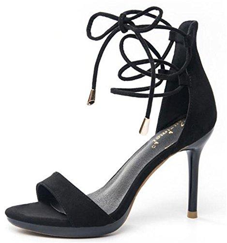 2018 newest sexy women sandal cross-tied fashion sandals women night club  high thin heel b276d58683b1