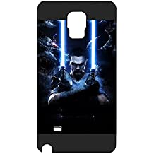 Samsung Galaxy Note 4 Funda Case película Star Wars Personalized Durable Ultra Thin Back Film Protector Skin