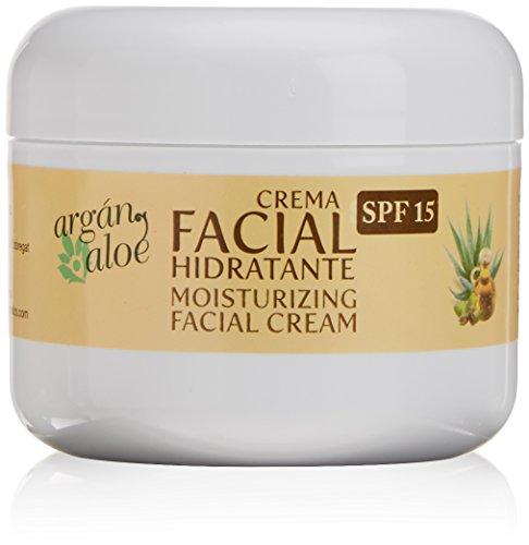 Argan-Aloe 70090 - Crema facial hidratante aloe argán