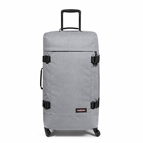 Eastpak Trans4 L Equipaje de mano, 75 cm, 80 liters, Gris (Sunday Grey)