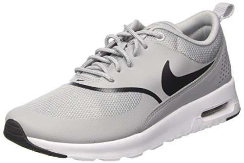 Nike Air Max Thea, Baskets Femme, Gris (Wolf Grey/Black 030), 37.5 EU