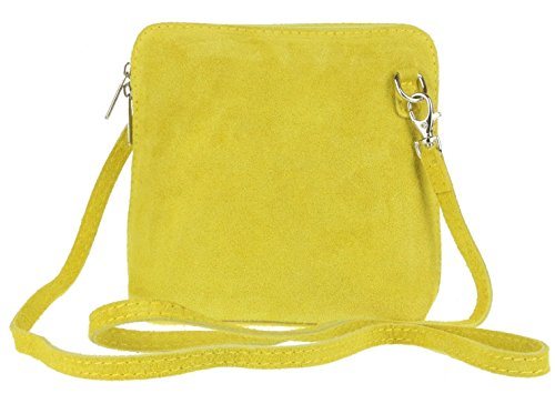 Craze London, Borsa a tracolla donna Yellow