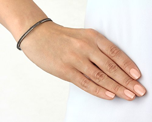 Joelle Jewellery Bracelet jonc Plaqué Or Femme blanc