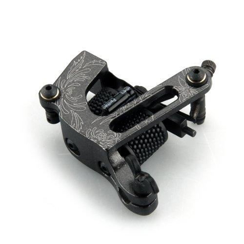 Machine Pistolet De Tatouage A Tatouer Noir Pour Liner Shader Professionnel