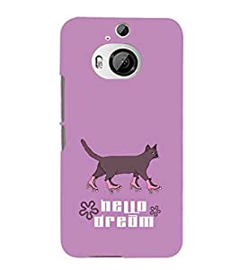 EPICCASE Hello Dream Mobile Back Case Cover For HTC One M9 Plus (Designer Case)