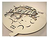 Schlummerlicht24 Led Lampe personalisiert Babygeschenk Sweet Dream Taufgeschenke Geschenke zur Geburt Kommunion Taufe Geschenk mit Namen individuell Junge Mädchen Jungs - 3