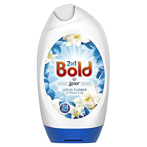 Price comparison product image Bold 2in1 Washing Gel Lotus and Water Lily Washes, 888 ml, Pack of 6