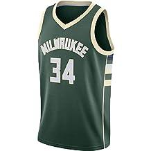 N&G SPORTS Giannis Antetokounmpo, Camiseta de Jugador de Baloncesto, Camiseta de los Milwaukee Bucks