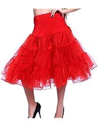 """26 """"50s Retro-Vintage-Swing-Unterrock Petticoat Fancy Net Rock Rockabilly Tutu"""