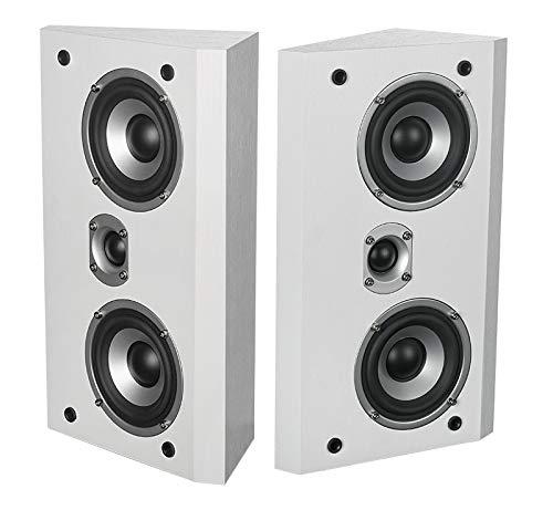 "Dynavoice Magic FX-4 - Paar Lautsprecher - Weiß. Kompakt-Monitor-Lautsprecher. Hochtöner: 1 x 1 \"". Woofer: 2 x 4\""."