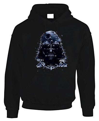 Felpa con cappuccio Darth Vader Star Wars GUERRE STELLARI by Fashwork
