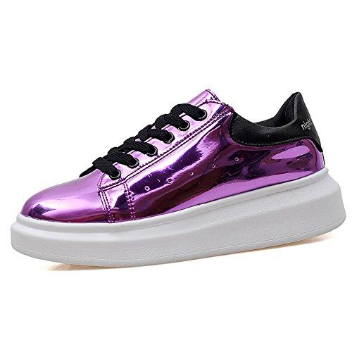 Brillant comme un miroir de cuir verni shoes/Chaussures femmes/Chaussures pour femmes D