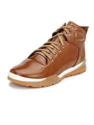 Guava Mens Tan Boots-7 UK/India (41 EU)(GV15JA459-7)