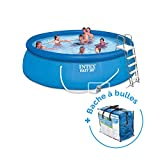 Pack Piscine autoportée Easy Set Intex 4,57 x...