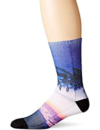Bottoms Out Men's Printed Crew Socks