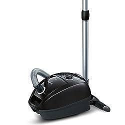 Bosch GL-30 Bodenstaubsauger mit Beutel BGL3B112, starke Reinigungsleistung, niedriger Stromverbrauch, für Hartböden geeignet, 650 Watt, schwarz