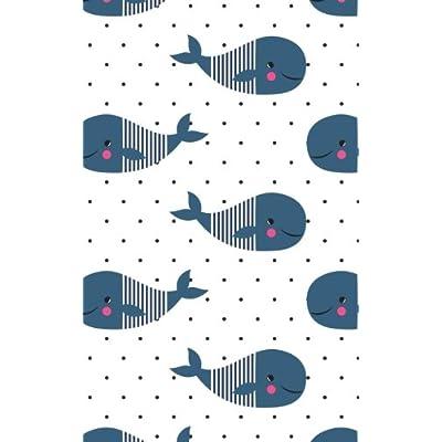 Carnet de Mots de Passe: A5 - 98 Pages - 147 - Baleines - Motifs - Ronds