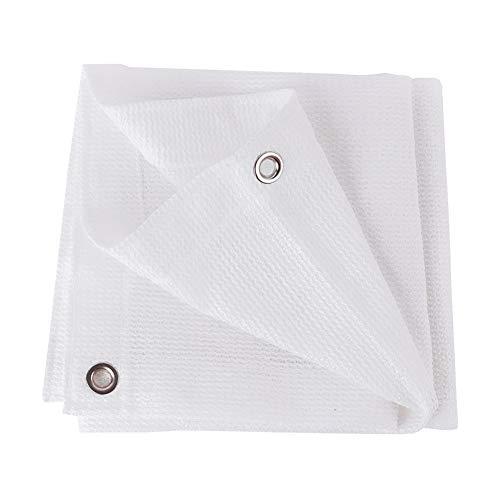 Tissu D'ombrage Blanc À 6 Goupilles D'ombre De Ménage Tissu D'ombrage À 80% Résistant Aux UV Pour Les Fleurs De Jardin (taille : 4 * 8m)