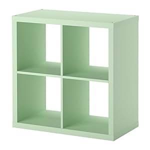 IKEA Kallax - Étagère, vert clair - 77x77 cm