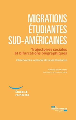 Migrations étudiantes sud-américaines (Etudes & recherche) par Observatoire national de la vie étudiante (OVE)
