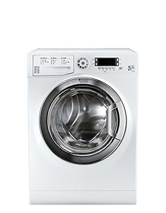 Hotpoint FDD 10761 XR EU machine à laver avec sèche linge - machines à laver avec sèche linge (Charge avant, Autonome, Blanc, Haut, A, A+)