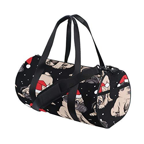 und benutzerdefinierte leichte große Gymnastik Totes Handtasche Reise Canvas Seesäcke mit Schulter Crossbody Fitness Sport Gepäck für Mädchen Männer Frauen ()