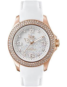 Ice-Watch Unisex-Armbanduhr Crystal Analog Quarz Leder CY.RGW.U.L.14