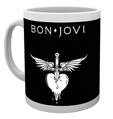 GB Eye LTD, Bon Jovi, Logo, Tazza