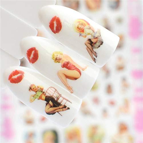 30 Designs Halloween/Kürbis Wasser AbziehbilderWasserzeichen Nail Sticker Dekoration Wraps Maniküre F190