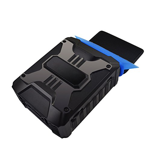 Demiawaking UEB Mini Vacuum USB Luft Extrahieren Auspuff Lüfter CPU Kühler für Notebook