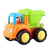 Alinory Mini Toy Vehicles Model Cute Cartoon Pattern Truck Model Gift for Children