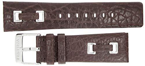 Festina Uhrenarmband | Ersatzband aus Leder 24mm in braun für F16325/3 F16325 F16475