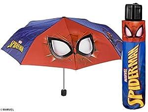 PERLETTI 75369 Boy Mini 50/8 - Paraguas para Hombre (3 Secciones, Resistente al Viento)