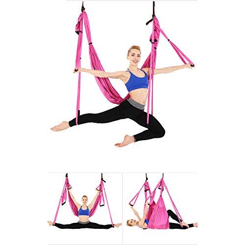 Juego de hamaca de yoga para ejercicios de inversión de...