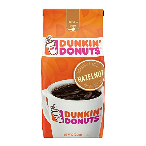 Dunkin' Donuts Ground Coffee - Hazelnut (340.2g)