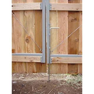 Adjust-A-Gate AG 22000 Drop Rod-Used for Double Drive Gate Applications or Single Gates, White by Adjust-A-Gate