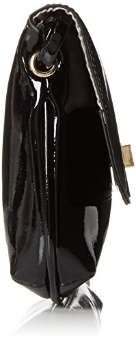 Tamaris Damen Wanda Crossbody Bag Umhängetaschen, 27x16x4 cm Schwarz (Black)