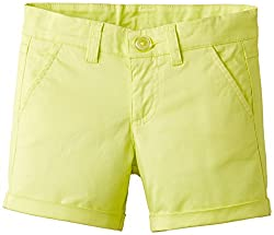 United Colors of Benetton Girls Shorts (15P4MP0596S0G36FXX_Lemon_XX)