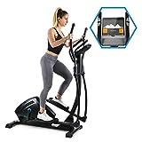 Capital Sports Helix Track - Cross-Trainer, Vélo elliptique, Bluetooth, Volant d'inertie 18 kg...