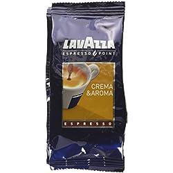 100 Capsules Café Crema Aroma Lavazza Espresso Point