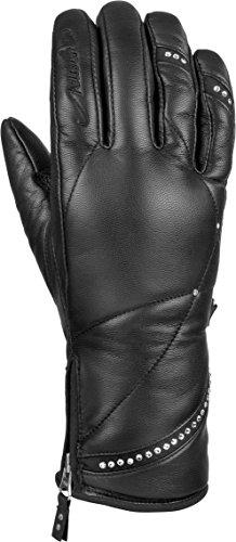 Reusch Damen Jasmine Handschuhe, Black, 8.5