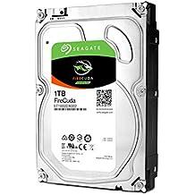 Seagate FireCuda - Disco duro interno SSHD de 1 TB (3,5', 64 MB de caché SATA de 6 GB/s hasta 210 MB/s)