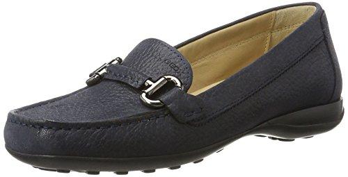 Geox Damen D Elina C Pumps, Violett (Prune), 40 EU (Mokassin-pumps Schuhe)