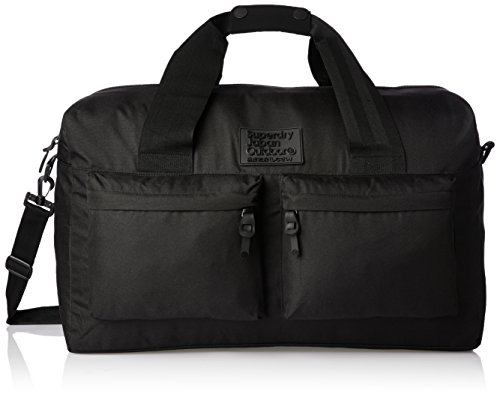 Superdry Camo City Breaker Holdall Zaino Casual, 60 cm, Teal (AB6)