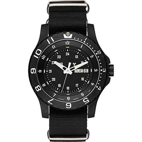 Traser H3para hombre militar P6600tipo 6mil G reloj correa de la OTAN uno tamaño Sapphire/negro