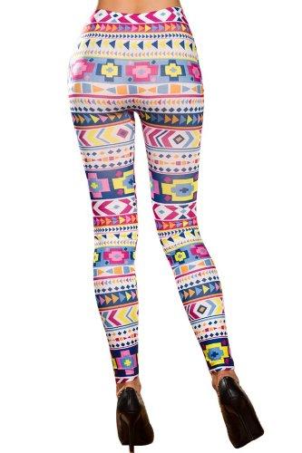 Cosmic Tie Dye Graphik dehnbare Strumpfhosen Leggings Pants Gr. One size , Pattern16 (Tie Dye Strumpfhose)