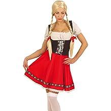 Oktoberfest Dirndl Kostüm Heidi Tracht Wiesn Damenkostüm Heidikostüm  Alpenmädchen Damen ... ddf55881ef